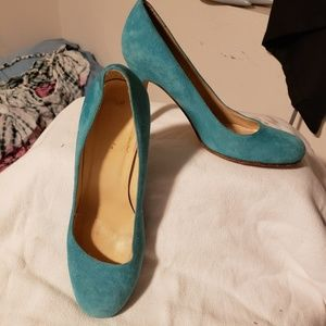 Turquoise kate ♣️ spade Pumps